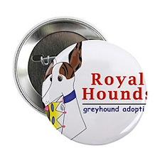 "Royal Hounds Greyhound Adoption Logo (RHGA) 2.25"""