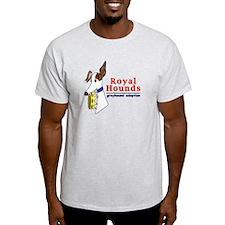 Royal Hounds Greyhound Adoption Logo (RHGA) T-Shir