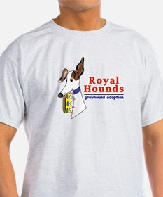 Royal Hounds Greyhound Adoption Logo (RHGA) T-Shir