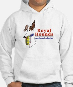 Royal Hounds Greyhound Adoption Logo (RHGA) Hoodie
