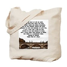 Boat of Life Tote