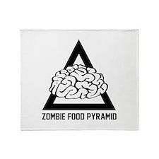 Zombie Food Pyramid Stadium Blanket