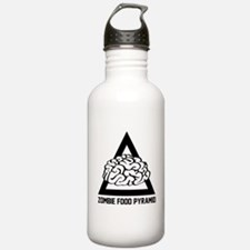Zombie Food Pyramid Water Bottle