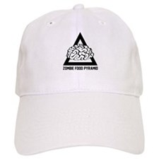 Zombie Food Pyramid Baseball Cap