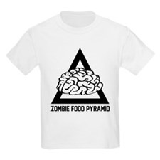 Zombie Food Pyramid T-Shirt