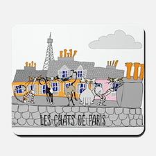 The Cats of Paris - Les Chats de Paris Mousepad