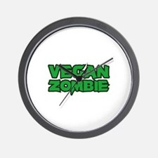 Vegan Zombie Wall Clock