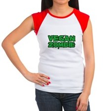 Vegan Zombie Women's Cap Sleeve T-Shirt