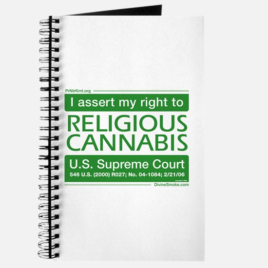 Religious Cannabis Journal