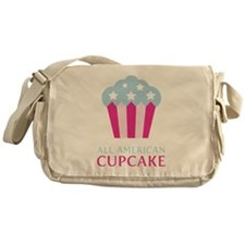 All American Cupcake Messenger Bag