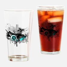 modern music background Drinking Glass