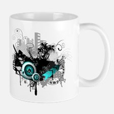 modern music background Mug