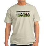 The Usual Genealogy Suspects Light T-Shirt
