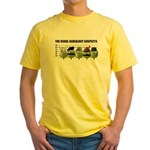 The Usual Genealogy Suspects Yellow T-Shirt