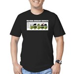 The Usual Genealogy Suspects Men's Fitted T-Shirt