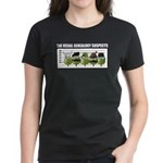 The Usual Genealogy Suspects Women's Dark T-Shirt