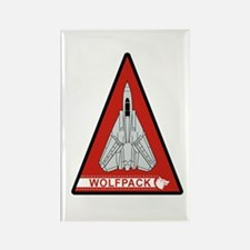 F-14 Tomcat VF-1 Wolfpack Rectangle Magnet