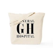 General Hospital Black Tote Bag