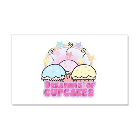 dreaming of cupcakes Car Magnet 20 x 12