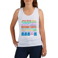 Richard Castle Funny Quotes Women's Tank Top