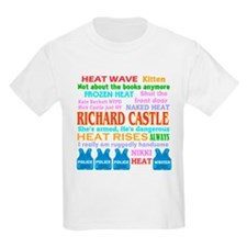 Richard Castle Funny Quotes T-Shirt