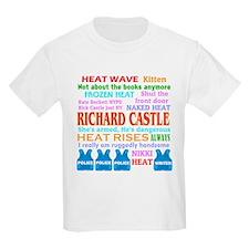Richard Castle Funny Quotes T-Shirt