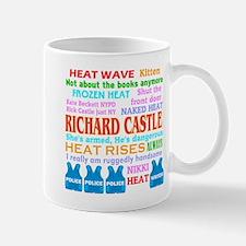 Richard Castle Funny Quotes Mug