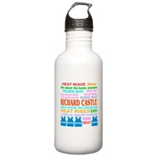 Richard Castle Funny Quotes Water Bottle