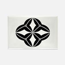 Shippo-shaped arrowhead Rectangle Magnet (10 pack)
