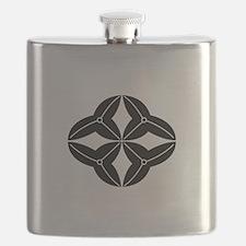 Shippo-shaped arrowhead Flask