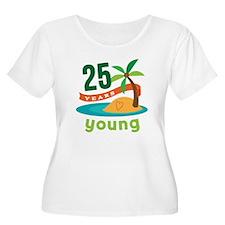 25th Birthday Tropical T-Shirt