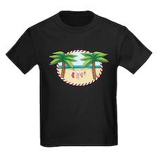 Christmas Stocking Beach T-Shirt