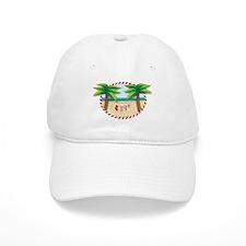 Christmas Stocking Beach Baseball Baseball Cap