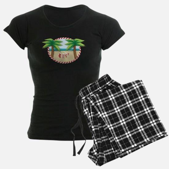 Christmas Stocking Beach Pajamas
