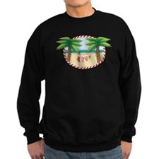 Christmas Stocking Beach Sweatshirt