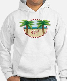 Christmas Stocking Beach Hoodie