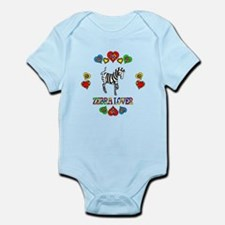 Zebra Lover Infant Bodysuit