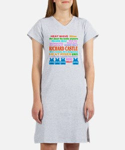 Richard Castle Funny Quotes Women's Nightshirt