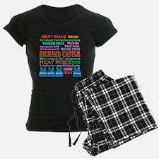 Richard Castle Funny Quotes Pajamas
