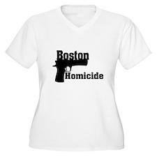 Boston Homicide 1 Plus Size T-Shirt