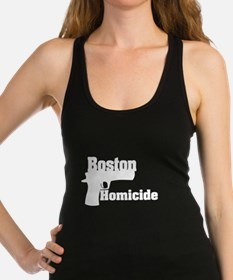 Boston Homicide 3 Racerback Tank Top