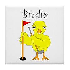 Birdie Tile Coaster