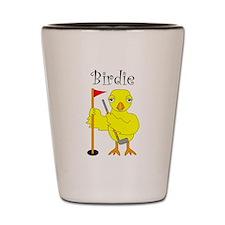 Birdie Shot Glass