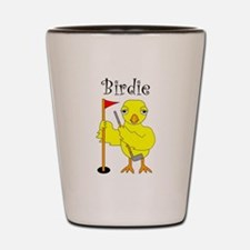 Birdie Shot Glass