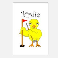 Birdie Postcards (Package of 8)