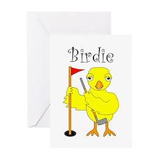 Birdie Greeting Card