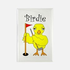 Birdie Rectangle Magnet