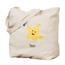 Star and Lucy Tote Bag