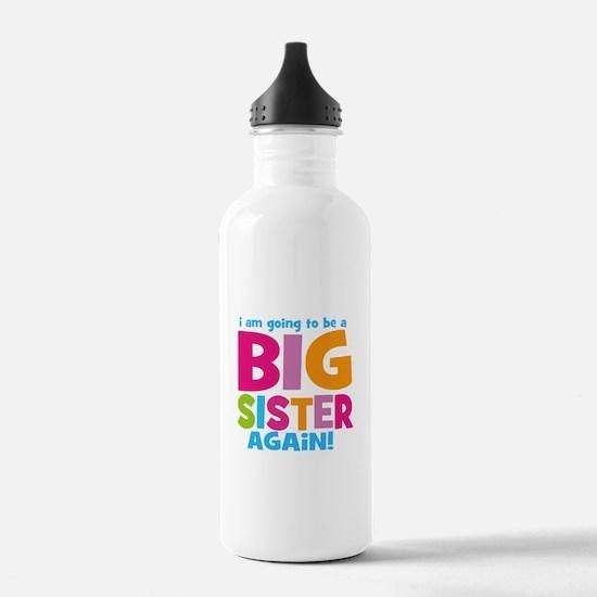 Big Sister Again Water Bottle