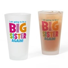 Big Sister Again Drinking Glass